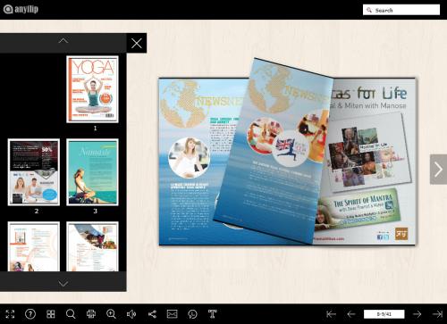 AnyFlip Online Magazine'