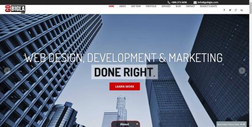 law firm website design'