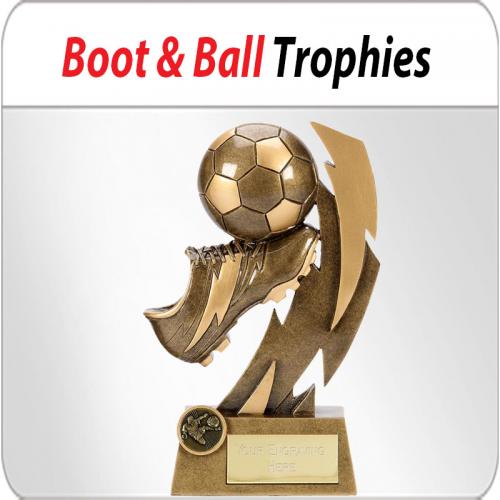 best football trophies'