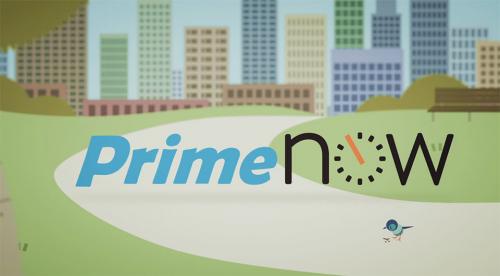 Amazon Prime Now'