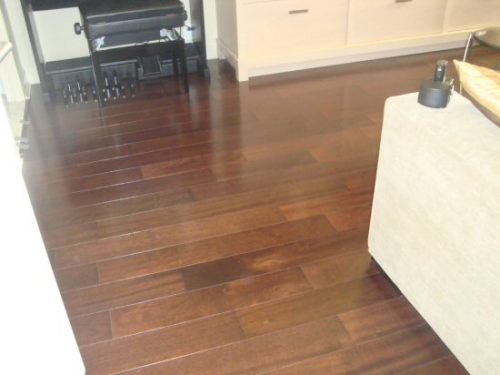 Hardwood flooring in New York City'
