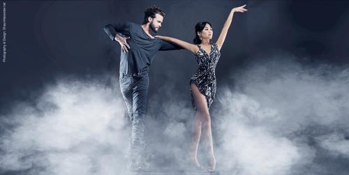 Ballroom dancers Mairi and Tommy Bettin of Midlothian'