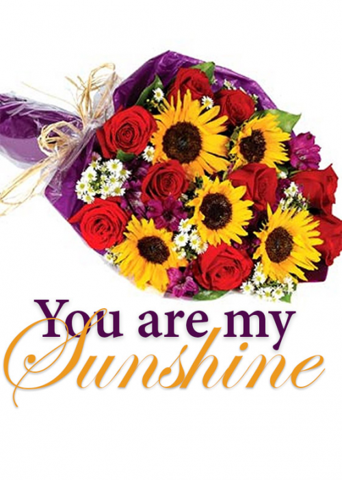 You Are My Sunshine Bouquet'