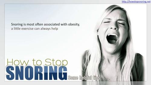 Help Stop Snoring'