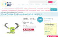 Global Foodservice Disposables Market 2015 - 2019