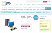 Global Cloud Identity and Access Management Market 2016