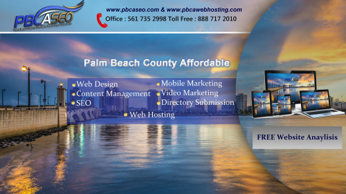 Florida's Palm Beach County Affordable Online Marketing'