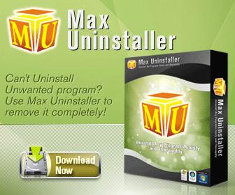 Max Uninstaller'