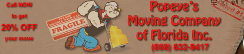 Popeye's Moving Company'