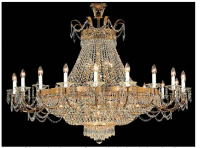 Chandeliers play a powerful role in hotel success: Crystals