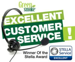 STELLAService 'Excellent' Award  to Green Smoke'