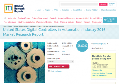 United States Digital Controllers in Automation Industry'