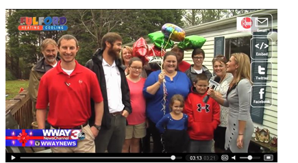 Fulford HVAC Teams with WWAY for Heat 4 the Holidays Contest'