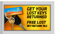 Wilmington NC Locksmith Offers Lost Key Return Tag Service