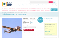 Global UAV Market 2016 - 2020