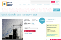 Global Automatic Door Market 2016 - 2020