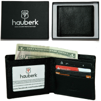 HAUBERK RFID Wallet on Amazon