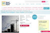 Global Fire-resistant Glass Market 2016 - 2020