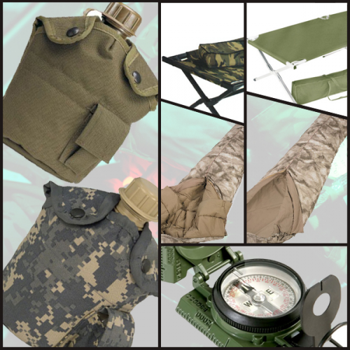 Our military field and outdoor gear is perfect for everythin'
