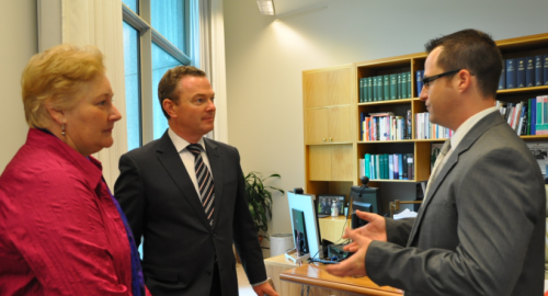 DSYNC meet Science and Innovation Minister'