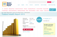 Thailand Wealth Report 2015