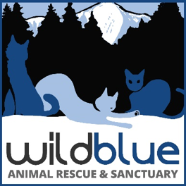 Wild Blue Animal Rescue & Sanctuary Logo