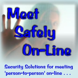 Logo for Meet Safely On-Line'
