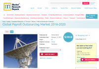 Global Payroll Outsourcing Market 2016 - 2020