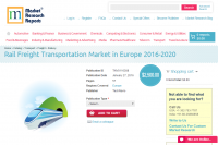 Rail Freight Transportation Market in Europe 2016 - 2020