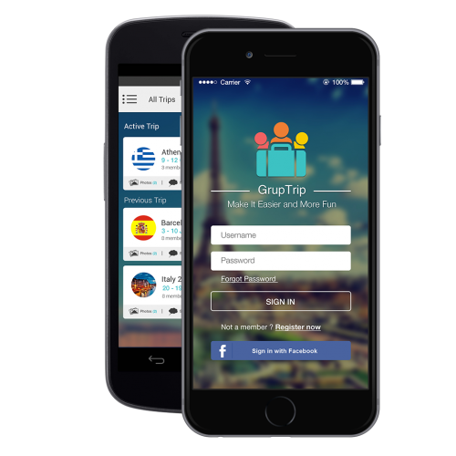 GrupTrip App'