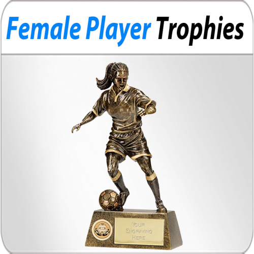 Female Player Trophies'