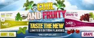 Cool and Fruity Flavors by V2 Cigs'