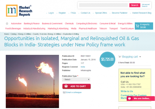 Isolated, Marginal & Relinquished Oil & Gas'