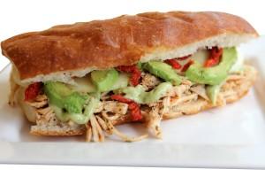 Chicken Pesto Sandwich'