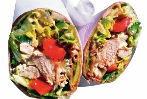 Zesty Chicken Wrap'