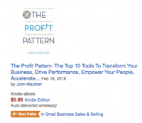 Amazon #1 Best Seller - Small Business Sales & Selli