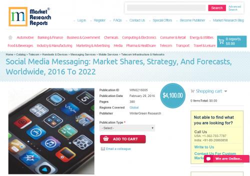Social Media Messaging: Market Shares, Strategy'