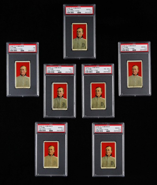 The Lucky 7 Find (Front of Cards)'