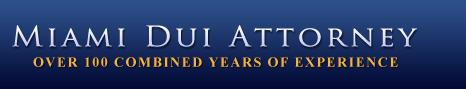 Miami DUI Attorneys'