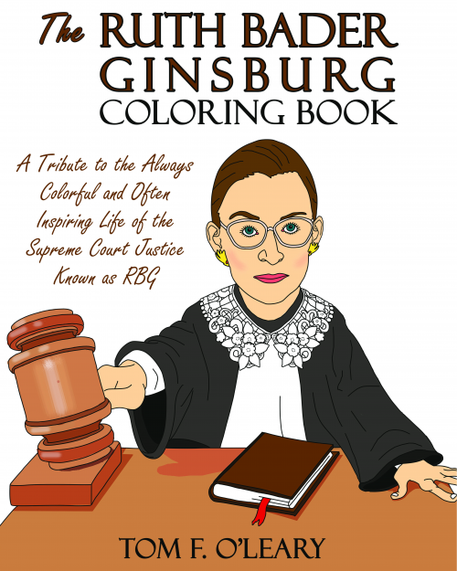 Ruth Bader Ginsburg Coloring Book'
