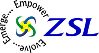 Logo for ZSL Inc'