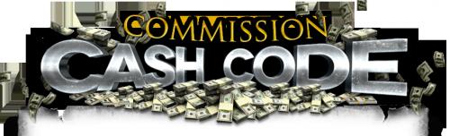 Commission Cash Code'