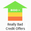 Logo for Really Bad Credit Offers