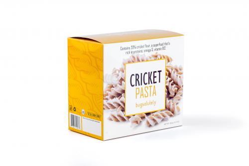 Cricket Pasta, explore the new world of edible insects'