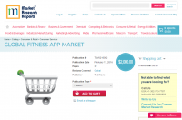 Global Fitness App Market