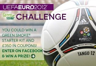 Euro 2012 Challenge From Green Smoke'