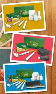 Various Kits of Green Smoke'