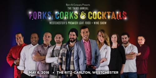 3rd Annual Forks, Corks & Cocktails- Westchester Pre'