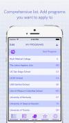 Medical School Application Tracker App'