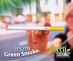 Great reviews for Green Smoke'